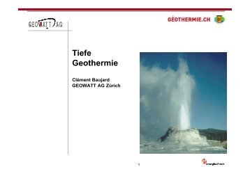 Info - pdf - 1.37Mb - Geothermie