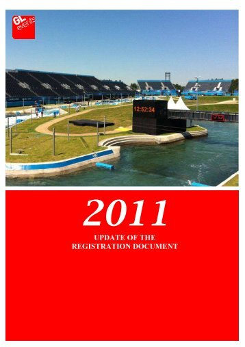 Update of the 2011 Registration Document - GL events