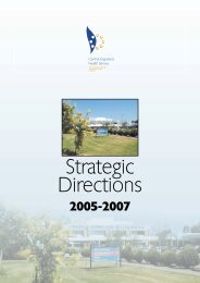 CGHS Strategic Directions 2005 - 2007 - GHA Central
