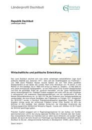 Länderprofil Dschibuti - Ghorfa