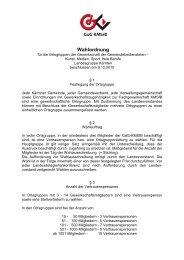 Wahlordnung Kärnten 9.12.2010 - FSG