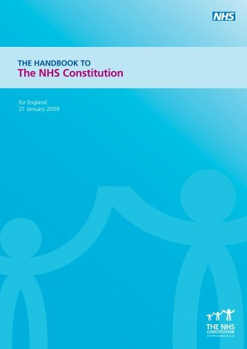 NHS Constitution Handbook - The NHS Constitution