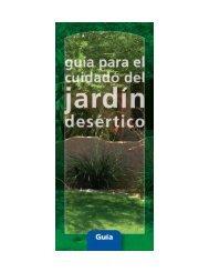 Guia para el cuidado del jardin desertico