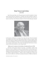 Homi Nusserwanji Sethna - Geological Society of India