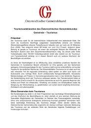 Tourismusdeklaration der Österreichischen Gemeinden (PDF; 108 KB)