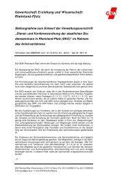 2012_11_12 Dienst- und Konferenzordnung Studienseminare - GEW