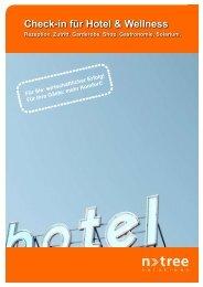 Check-in für Hotel & Wellness - Gleichauf GmbH