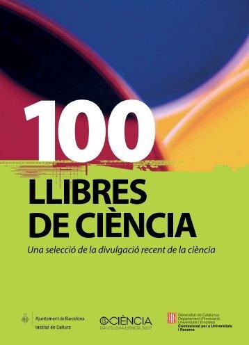 100 llibres de ciència - Universitat Pompeu Fabra
