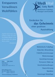 MediVital - Gaby Barth - Gesundheitsnetz Ostalbkreis