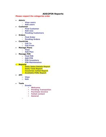 ADD2PIN Reports - GetACoder