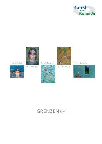 Broschüre Aktuelle Ausstellung GRENZEN los