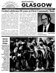 Grobel celebrates 50 years at First Community ... - Glasgow Montana