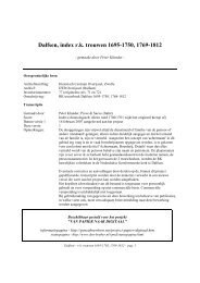 1695-1812 - Geneaknowhow.net