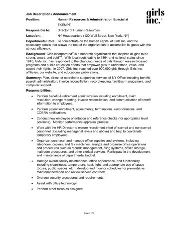 Girls Inc_HR Specialist-Office Admin 2009-04.pdf