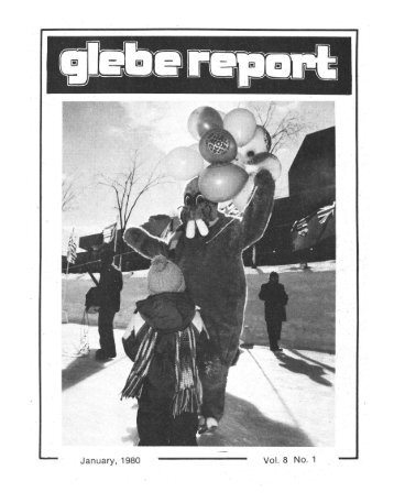 Glebe Report - Volume 8 Number 1 - January 1980