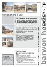 Barwon Heads Residential Character Study - City of Greater Geelong