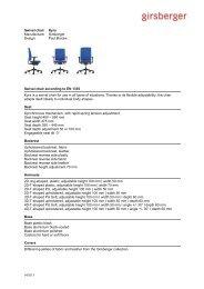 Text for tenders swivel chair (pdf) - Girsberger