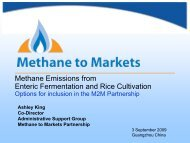 Enteric and Rice - Global Methane Initiative