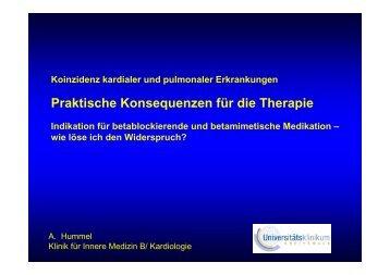 Praktische Konsequenzen für die Therapie