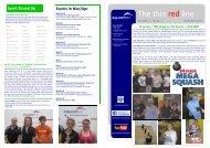 The thin red line - Squash Victoria