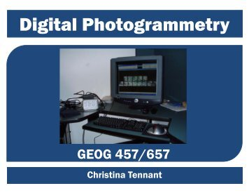 Christina Tennant - UNBC GIS Lab