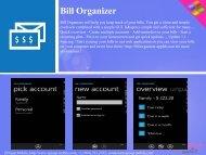 Bill Organizer - Get Mobile game