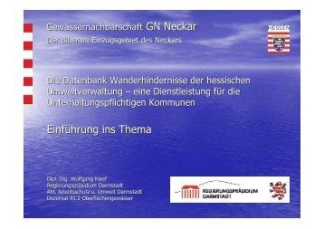 Vortrag 3_Wanderhindernisse_Kleef_Teil1 | PDF 1,5 MB