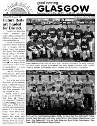 Future Reds are headed for District - Glasgow Montana