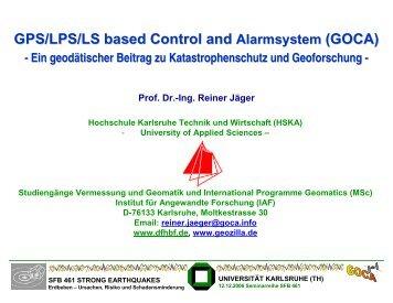 PDF mit PowerPoint-Folien zum Vortrag (14 MB). - GOCA