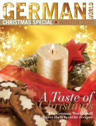 CHRISTMAS SPECIAL • WINTER2010 - german world magazine