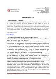 Europa Aktuell 1/2013 - Österreichischer Gemeindebund