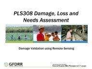 Using Remote Sensing - GFDRR