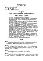 Sub-Decree 008 - Global Witness