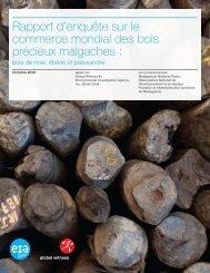 Rapport d'enquête sur le commerce mondial des ... - Global Witness