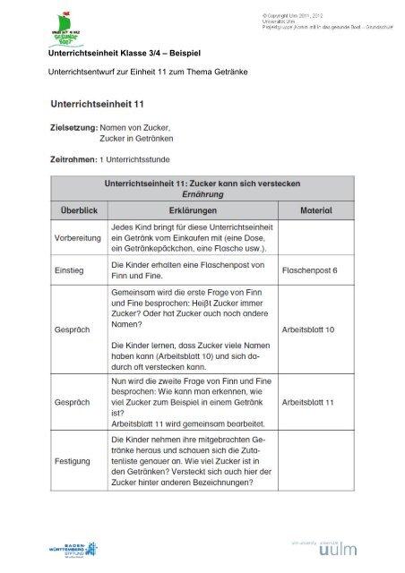 Unterrichtsentwurf 9