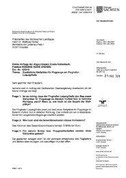 Zusätzliche Stellplätze für Flugzeuge am Flughafen Leipzig/Halle Drs.