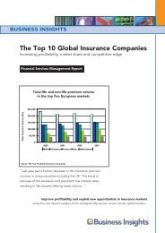 The Top 10 Global Insurance Companies - Business Insights