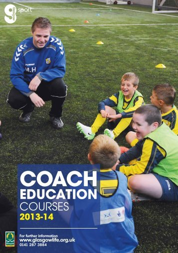 Coach Education Diary Booking Form - Glasgow Life