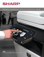 MX-5111N Brochure - Shore Business Solutions
