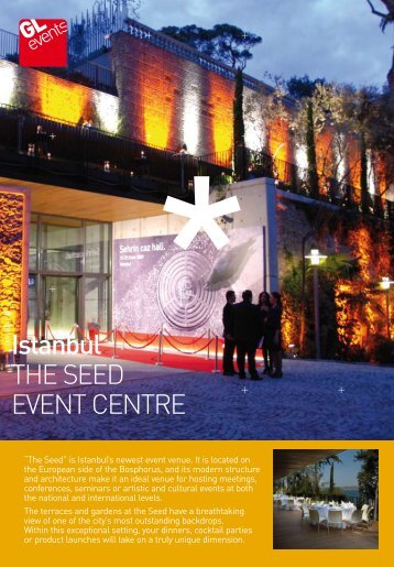 Istanbul THE SEED EVENT CENTRE - GL events