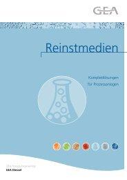 Reinstmedien - GEA Diessel GmbH