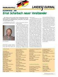 OURNAL LANDESJ Ernst Scharbach neuer V t Scharbach neuer V t ...