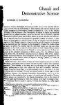 Ghazali and Ash'arism Revisited - al-Ghazali's Website - Page 2