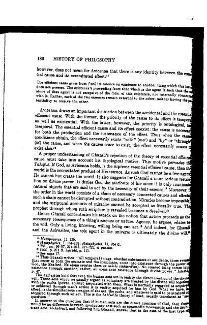 Ghazali and Ash'arism Revisited - al-Ghazali's Website