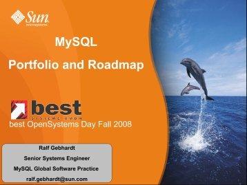 Mysql Portfolio and Roadmap - best Systeme Gmbh