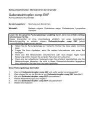 Gallensteintropfen comp EKF - Glenwood GmbH