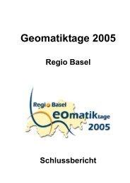 Geomatiktage 2005 Basel - Geomatik Schweiz