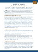Connecting Food and Health - Grantmakers In Health - Page 4