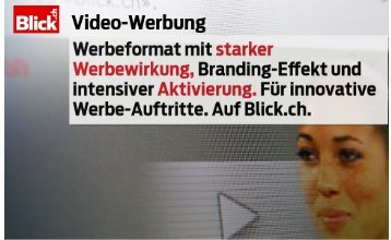 Blidä Video-Werbung - Go4media.ch