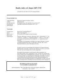 Raalte, index ref. dopen 1687-1745 - Geneaknowhow.net